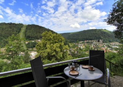 SchwarzwaldDELUXE Ferienwohnung Bad Wildbad - Terrasse 02