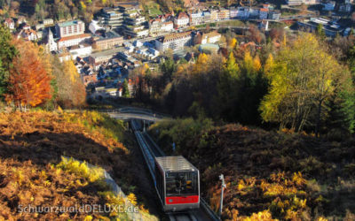 Die Sommerbergbahn in Bad Wildbad